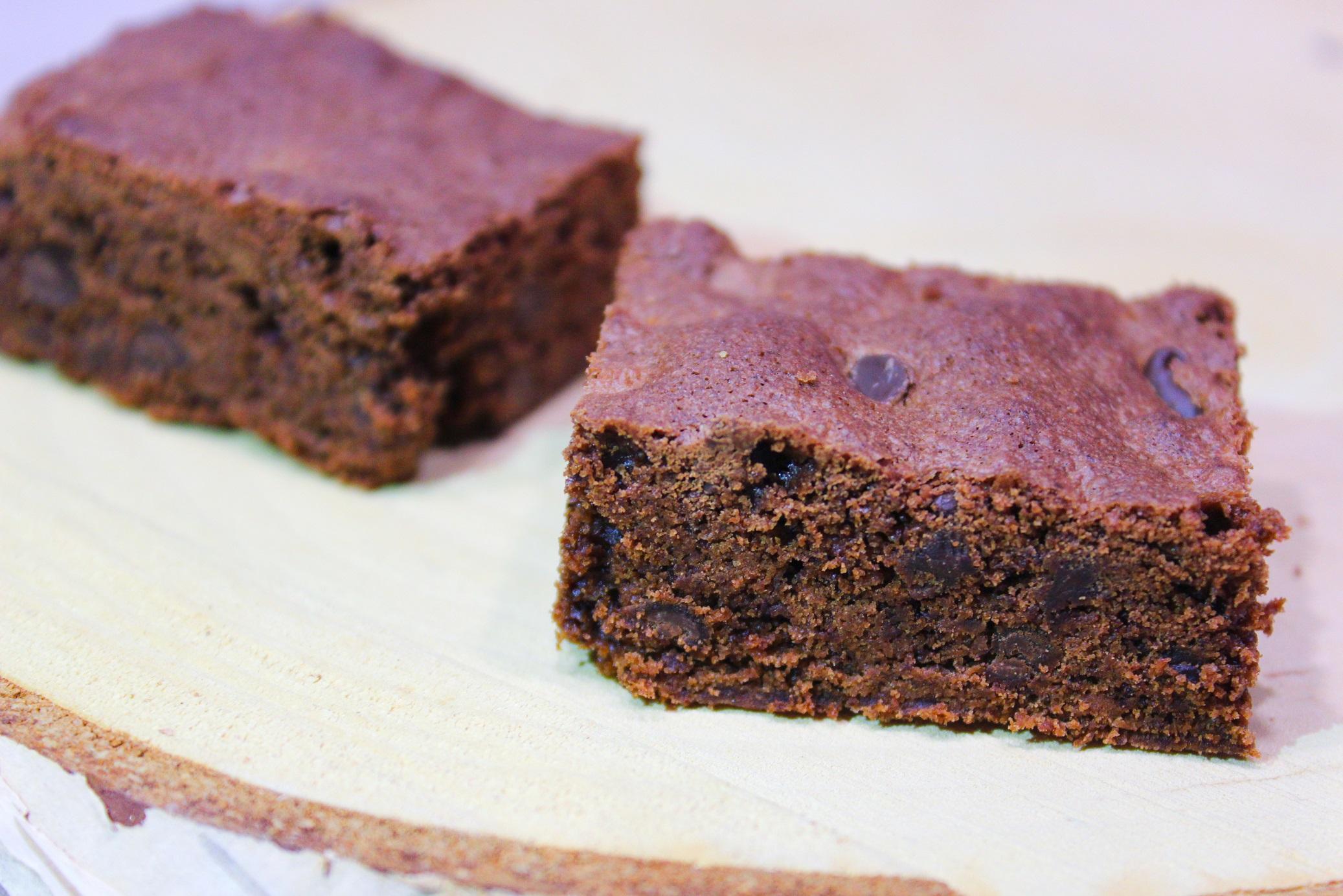 Brownie Chocolat aux Pépites de Chocolat