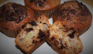 Délicimô ! - Recette Muffins Poires Chocolat - www.delicimo.fr