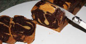 Délicimô ! - Recette du Cake Marbré Chocolat Vanille - www.delicimo.fr