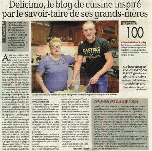 Délicimô le Blog de Recettes de Cuisine et de Pâtisserie inspiré par le savoir-faire et le fait maison de ses grand-mères - Yannick Rolland - www.delicimo.fr - Castres Olympique - La Dépêche du Midi