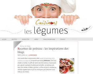Délicimô ! - Prince de Bretagne : Recettes de Poireaux - www.delicimo.fr