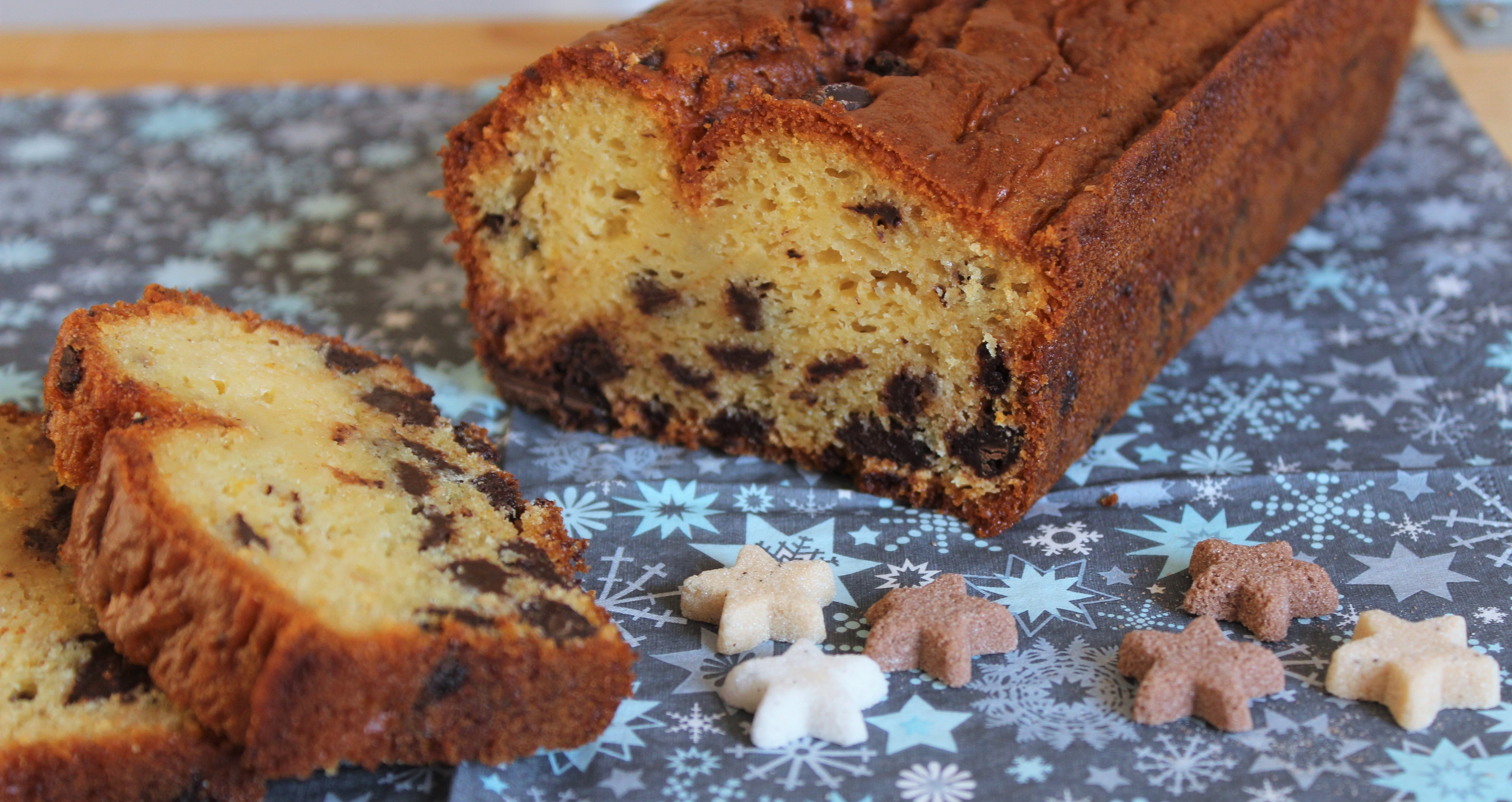 Cake au Yaourt Chocolat Orange