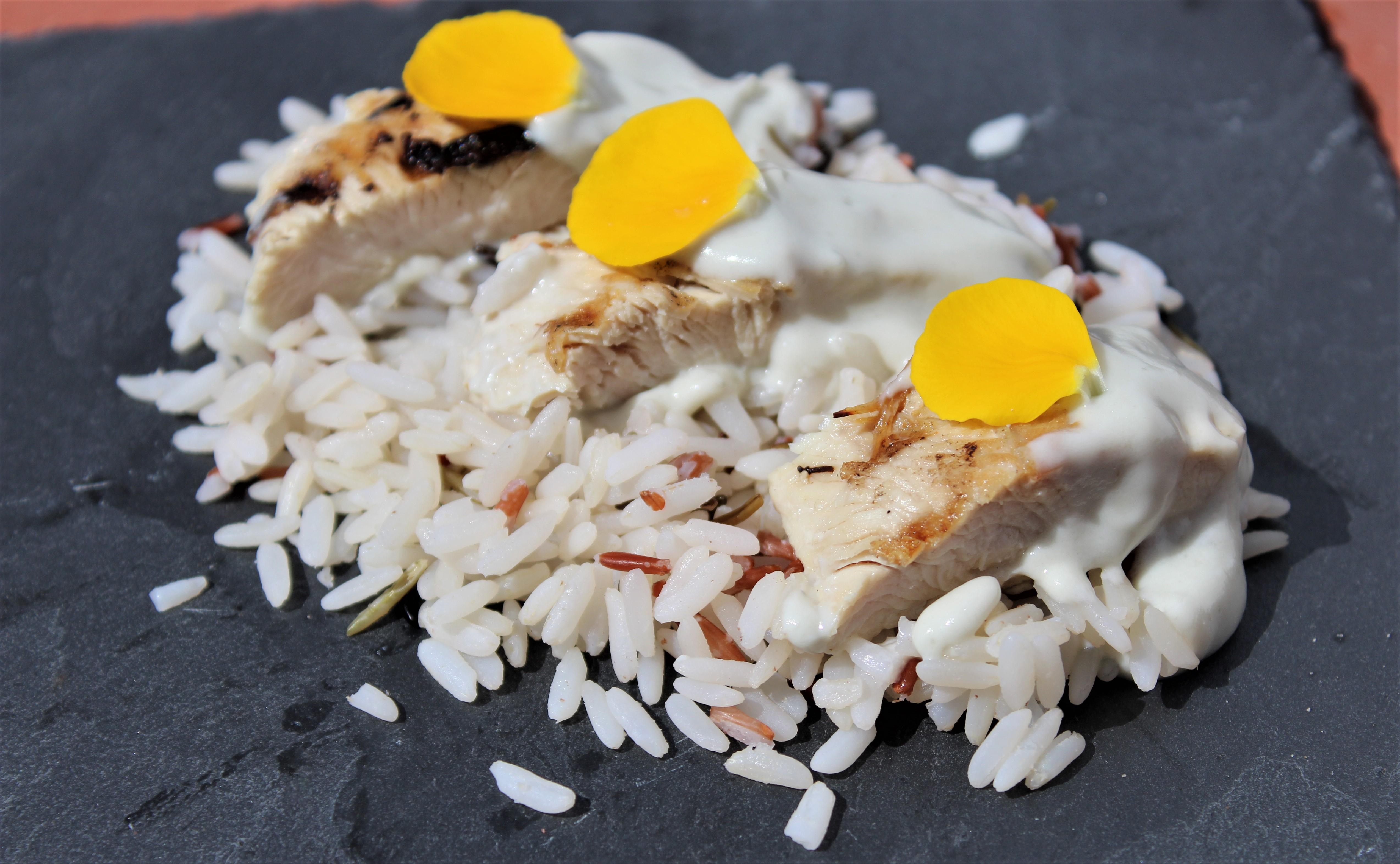 Filets de Dinde Grillés Sauce Roquefort