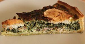 Délicimô ! - Recette Tarte Quiche Epinard Saumon Fromage de Chèvre - www.delicimo.fr