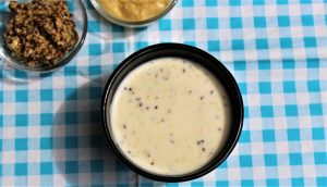 Délicimô - Recette Sauce ou Crème de Moutarde Facile et Rapide - www.delicimo.fr