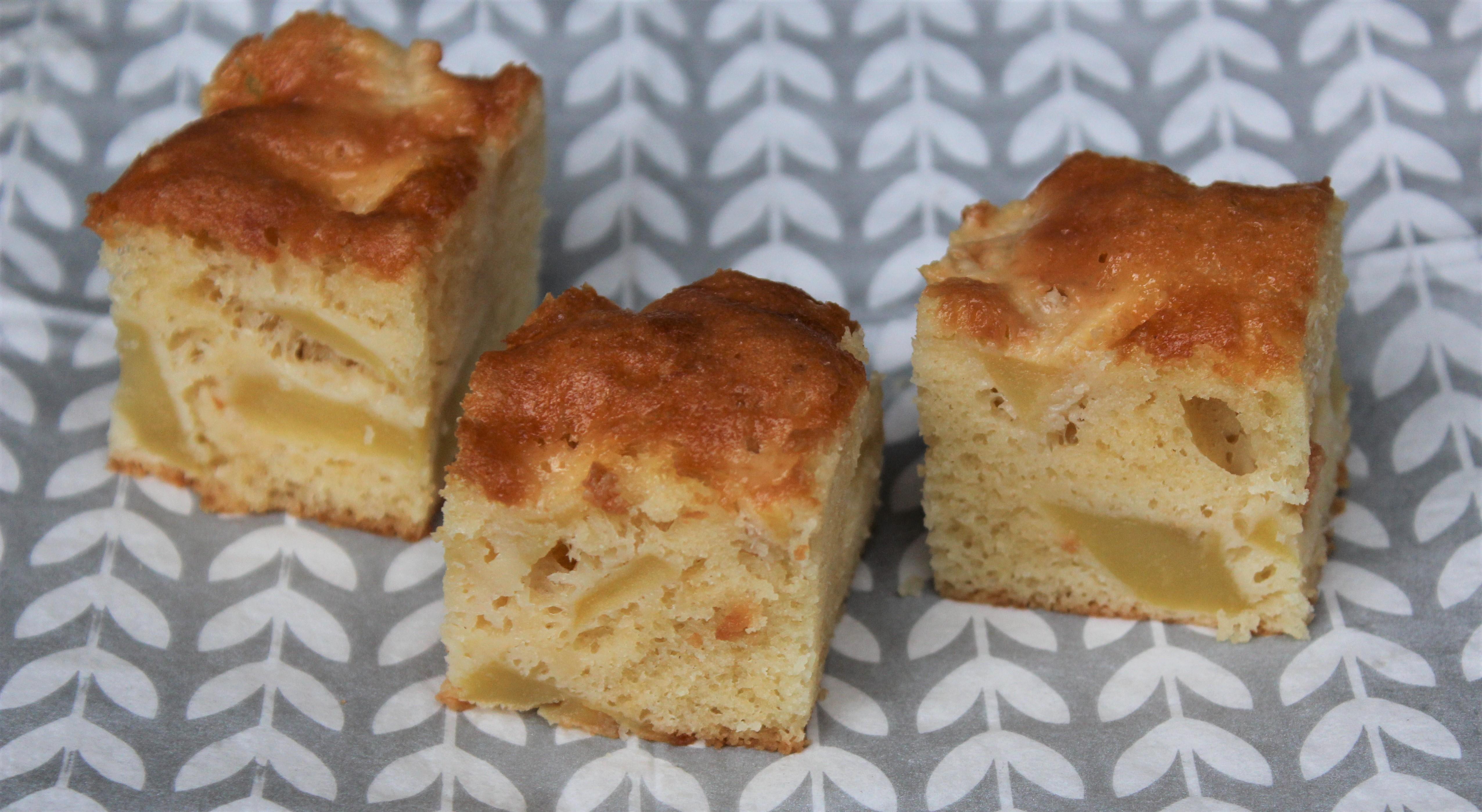 Gâteau Moelleux aux Pommes Ultra Facile