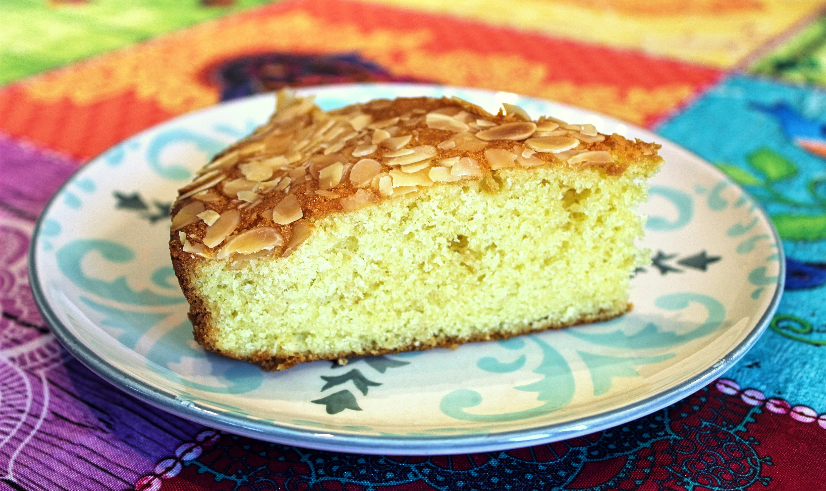 Gâteau Moelleux aux Amandes et au Citron