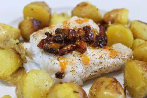 Délicimô ! - Recette du Dos de Cabillaud au Chorizo - www.delicimo.fr