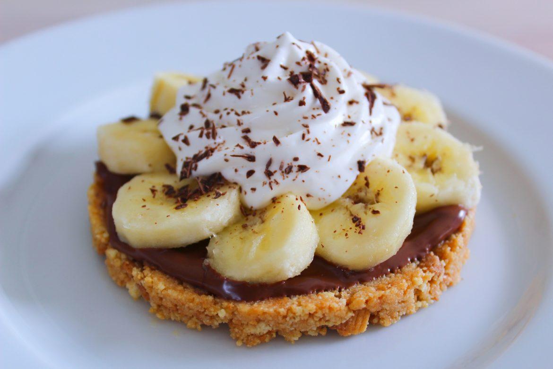 Sablé à la Banane et au Nutella