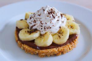 Délicimô ! - Recette du Sablé Banane Chocolat Nutella - Les fils à maman restaurant - www.delicimo.fr