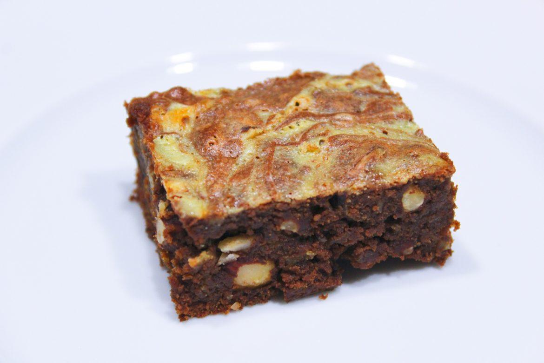 Brownie Marbré au Chocolat